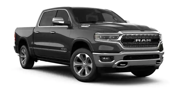 2019 Ram 1500 Granite Crystal Metallic Clear-Coat