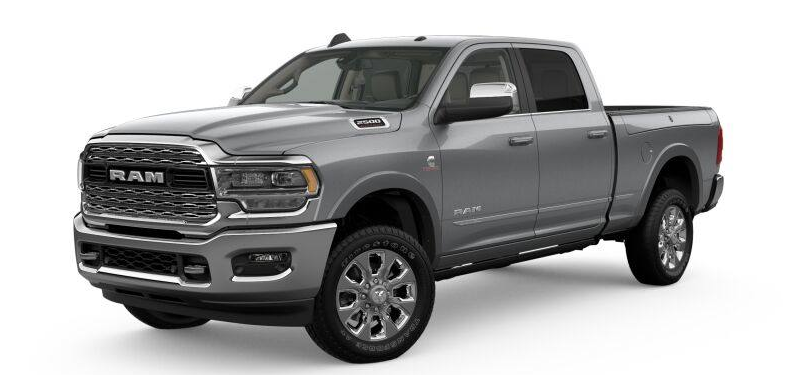 2019 Ram 2500 Billet Silver Metallic Clear-Coat