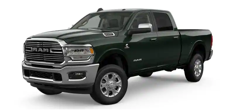 2019 Ram 2500 Black Forest Green Pearl-Coat