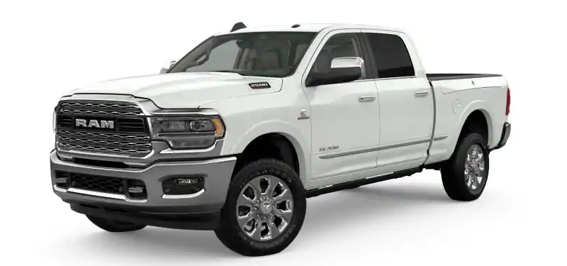 2019 Ram 2500 Bright White Clear-Coat