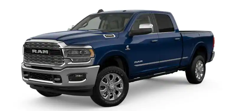 2019 Ram 2500 Patriot Blue Pearl-Coat