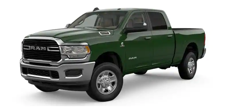 2019 Ram 2500 Tree Green