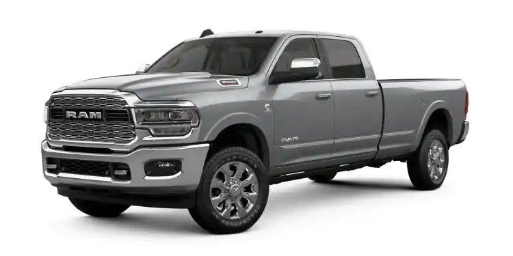 2019 Ram 3500 Billet Silver Metallic Clear-Coat