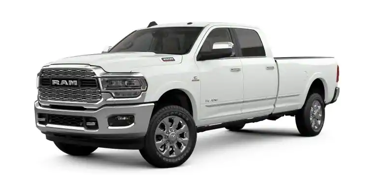 2019 Ram 3500 Bright White Clear-Coat