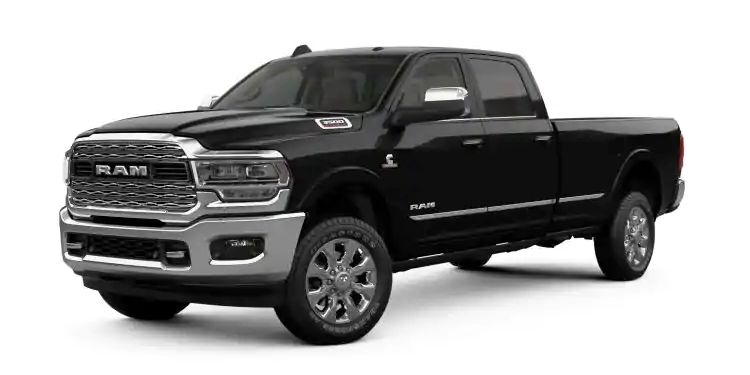 2019 Ram 3500 Diamond Black Crystal Pearl-Coat