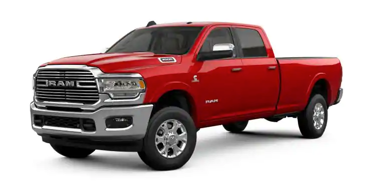 2019 Ram 3500 Flame Red Clear-Coat