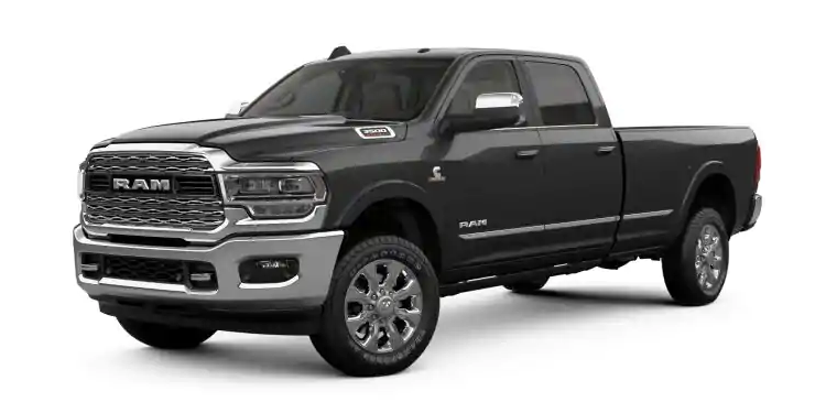 2019 Ram 3500 Granite Crystal Metallic Clear-Coat