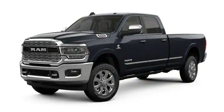 2019 Ram 3500 Maximum Steel Metallic Clear-Coat