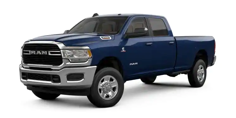 2019 Ram 3500 Midnight Blue Pearl-Coat