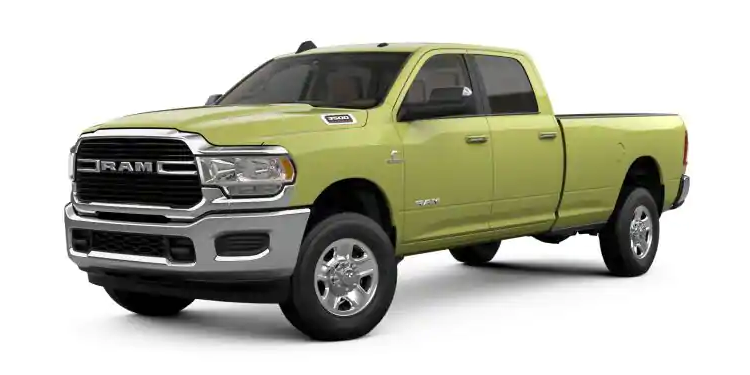 2019 Ram 3500 National Safety Yellow