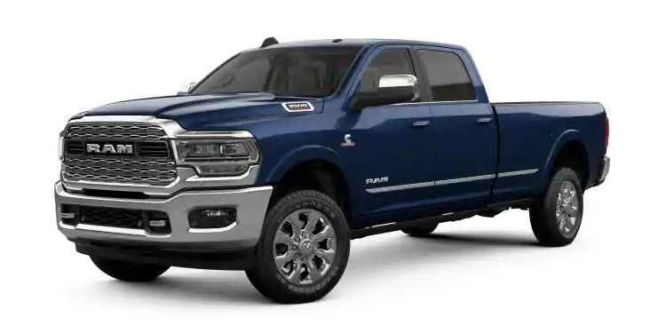 2019 Ram 3500 Patriot Blue Pearl-Coat