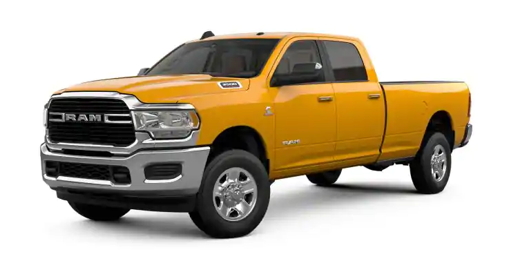 2019 Ram 3500 School Bus Yellow