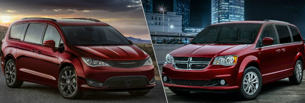 2019 Chrysler Pacifica and 2019 Dodge Grand Caravan
