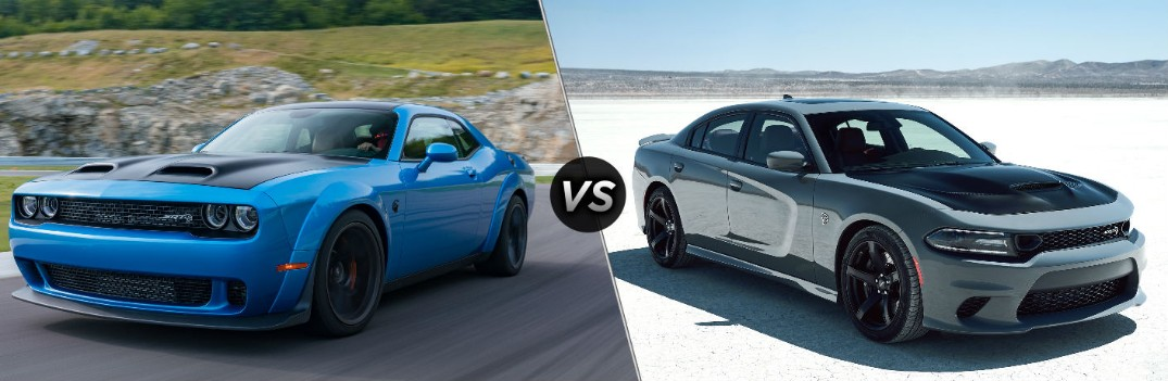 What are the Differences Between the Dodge Challenger SRT and Charger SRT Models?