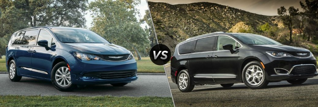 2020 Chrysler Voyager vs 2020 Chrysler Pacifica
