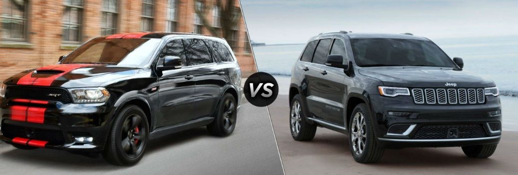2019 Dodge Durango vs 2019 Jeep Grand Cherokee
