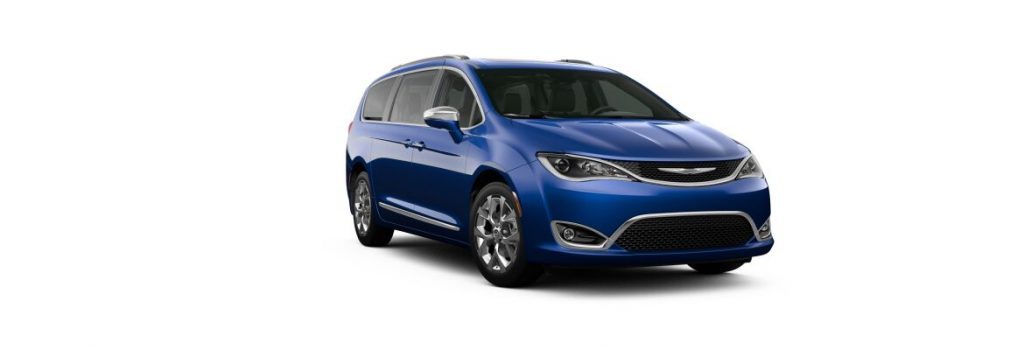 2020 Chrysler Pacifica Ocean Blue Metallic