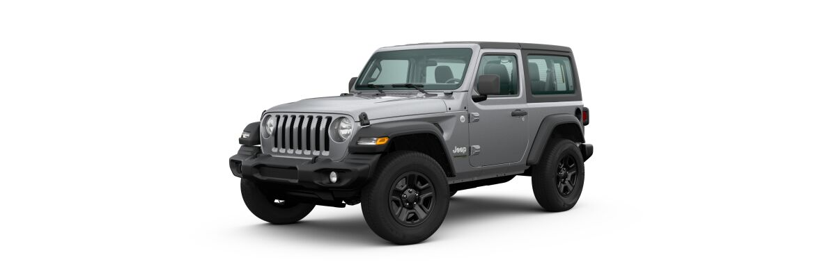 2020 Jeep Wrangler Billet Silver Metallic Clear-Coat