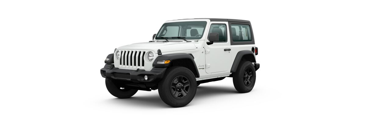 2020 Jeep Wrangler Bright White Clear-Coat