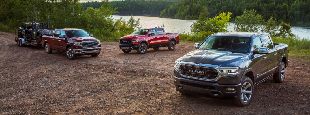 2020 Ram 1500 Gas and EcoDiesel Fuel Economy Ratings