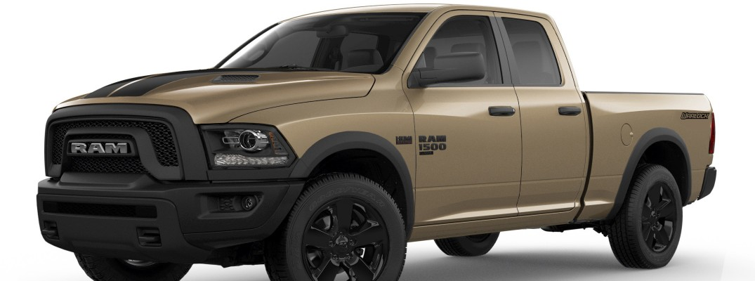 2019 Ram 1500 Classic Warlock Edition Adds Mojave Sand Package