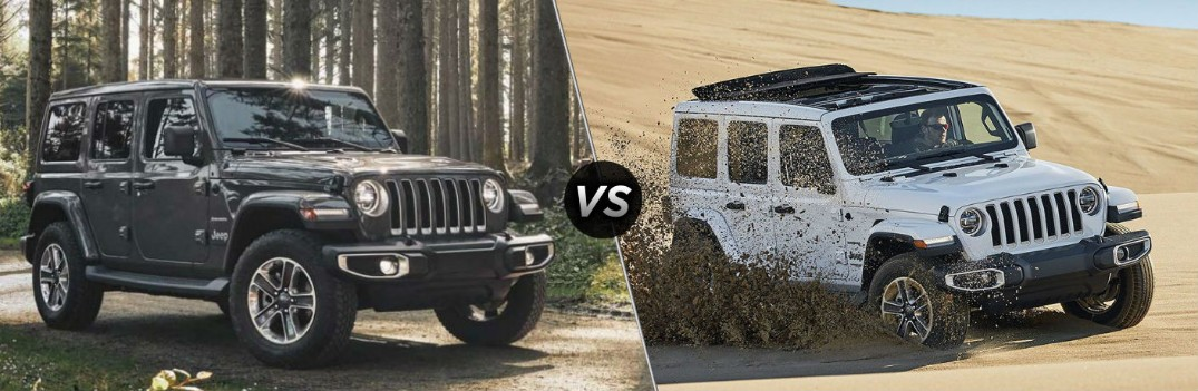 What Are The Differences Between The 2020 And 2019 Jeep Wrangler Palmen Motors