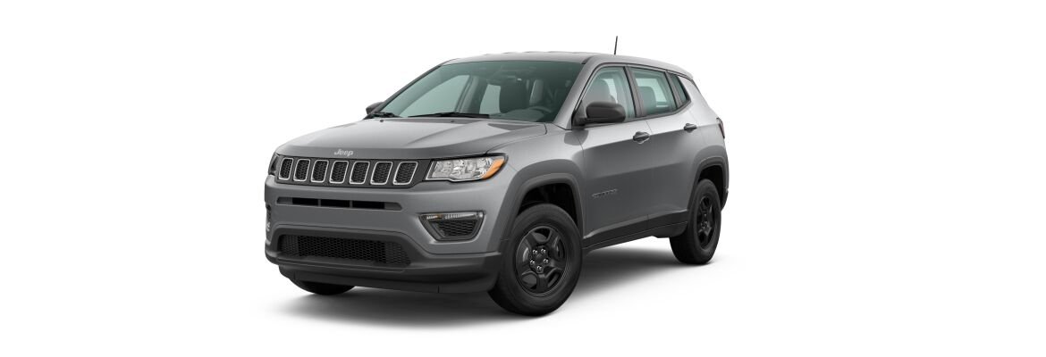 2020 Jeep Compass Billet Silver Metallic Clear-Coat