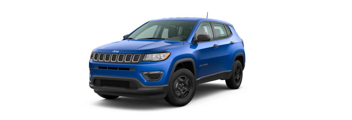 2020 Jeep Compass Laser Blue Pearl-Coat