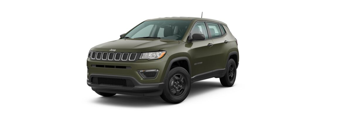2020 Jeep Compass Olive Green Pearl-Coat