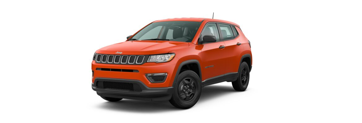 2020 Jeep Compass Spitfire Orange Clear-Coat