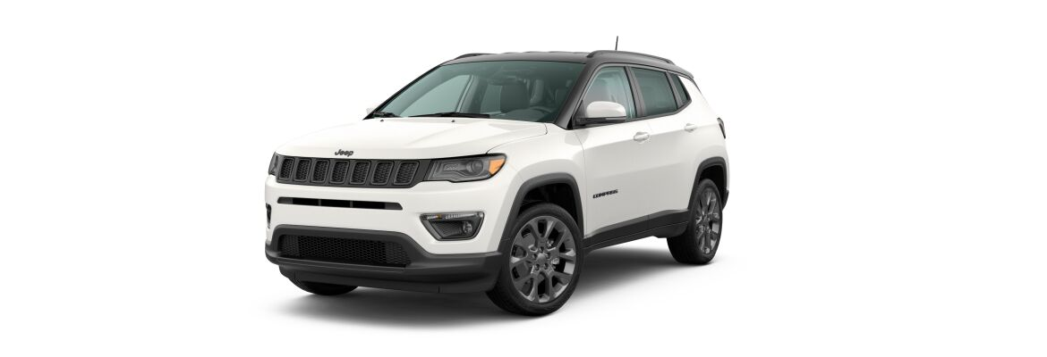 2020 Jeep Compass White Clear-Coat