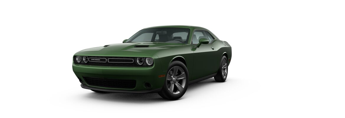 2020 Dodge Challenger F8 Green
