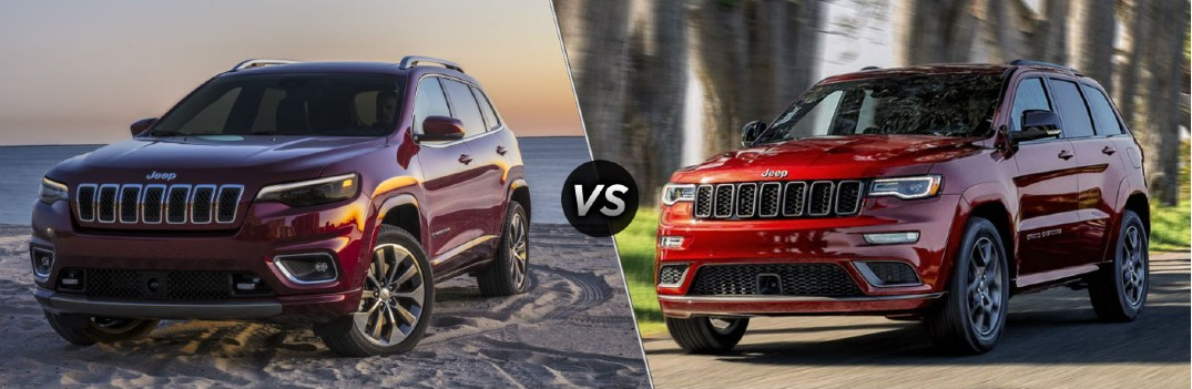 What are the Differences Between the 2020 Jeep Cherokee and Grand Cherokee?
