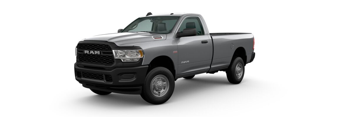 2020 Ram 2500 Billet Silver Metallic Clear-Coat