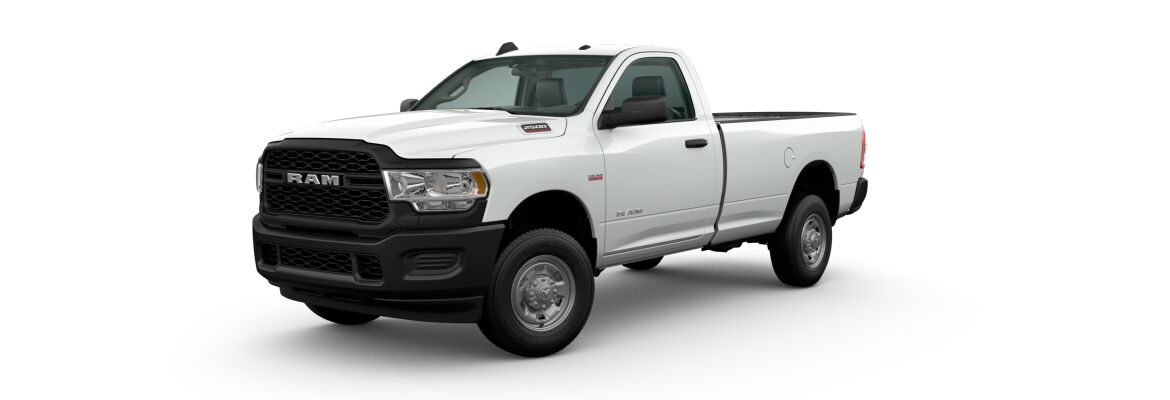 2020 Ram 2500 Bright White Clear-Coat