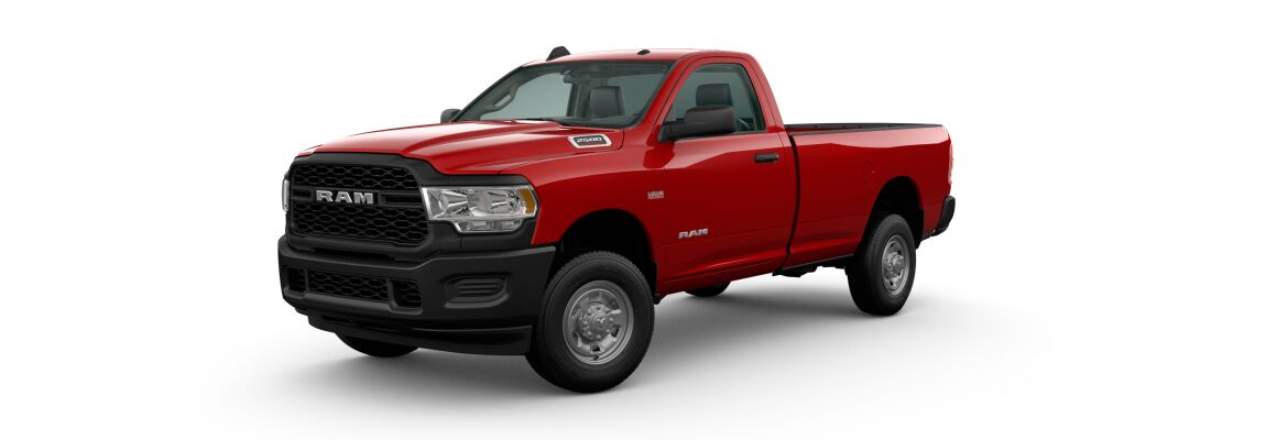 2020 Ram 2500 Flame Red Clear-Coat