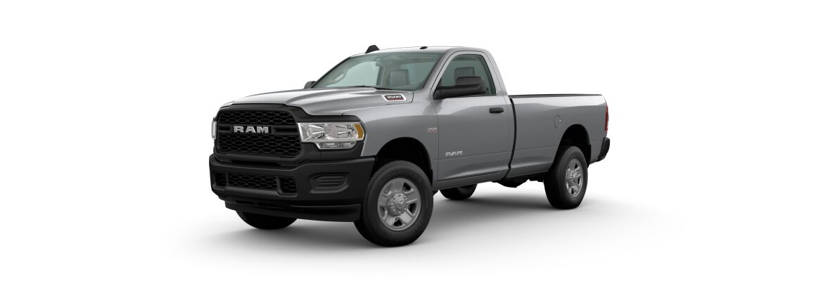 2020 Ram 3500 Billet Silver Metallic Clear-Coat