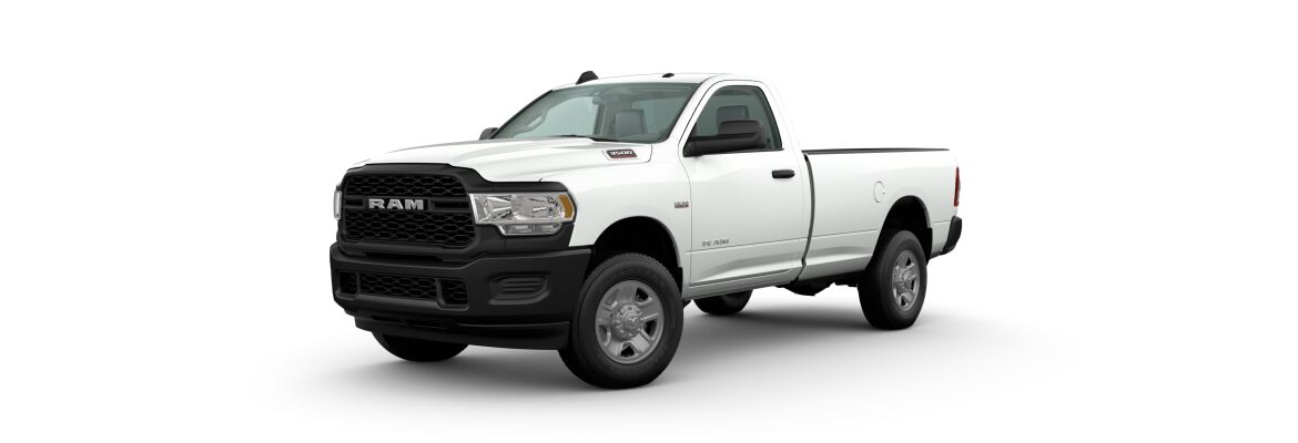 2020 Ram 3500 Bright White Clear-Coat