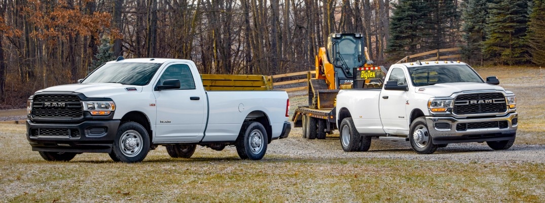 What are the Color Options of the 2020 Ram 2500 and 3500 Heavy Duty Trucks?