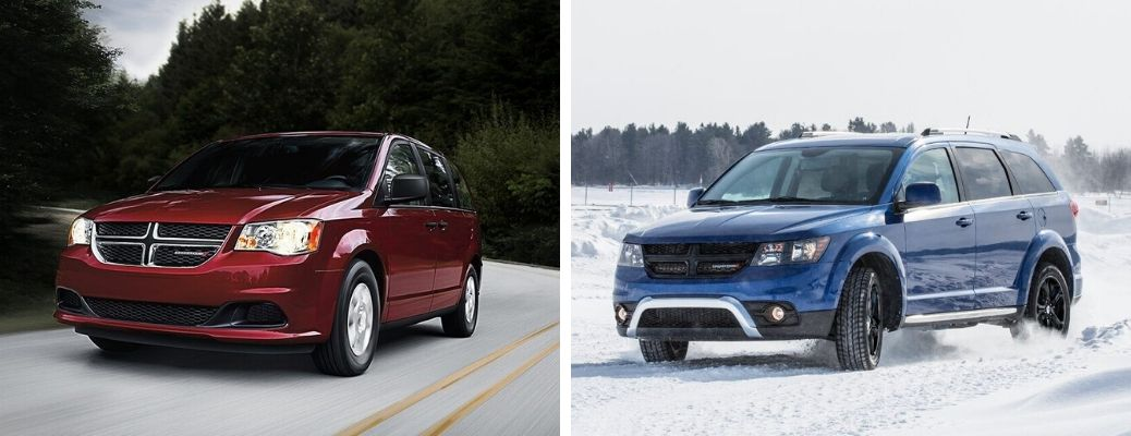 What are the Differences Between the 2020 Dodge Grand Caravan and Journey?