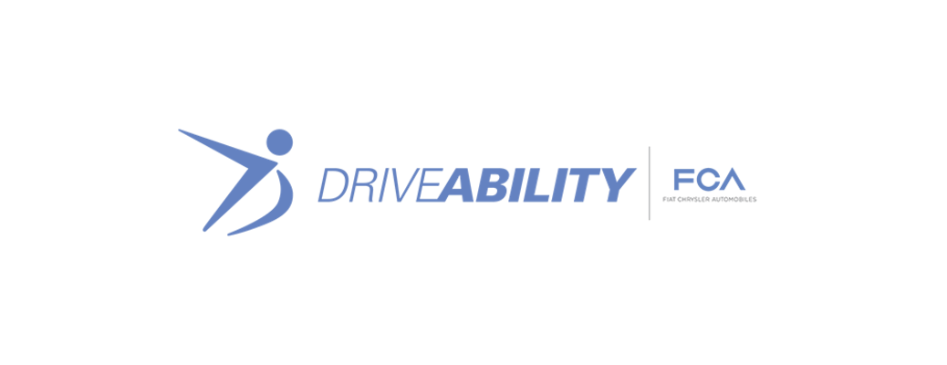 What is the DriveAbility Program from Fiat Chrysler Automobiles?