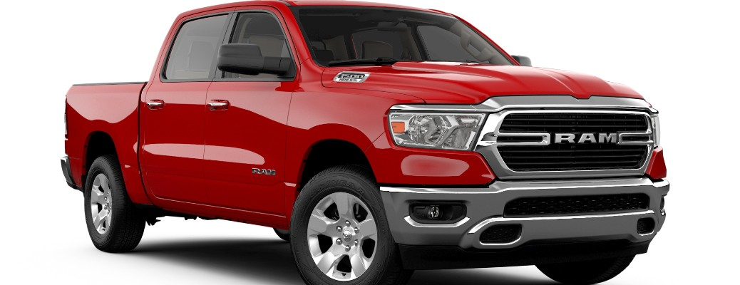 What's Included in the 2020 Ram 1500 Lone Star?