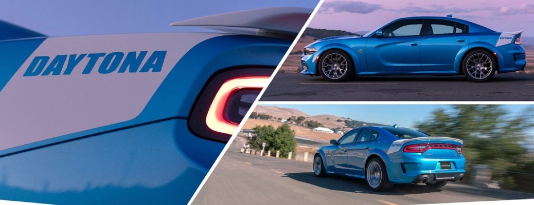 2020 Dodge Charger Hellcat SRT Widebody Daytona 50th Anniversary Edition collage