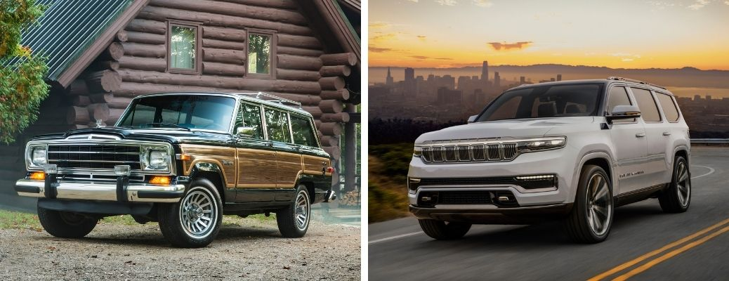 What are the Differences Between the Old and New Jeep Grand Wagoneer?
