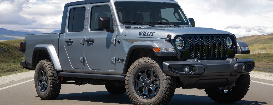 What's Included in the 2021 Jeep Gladiator Willys Edition?