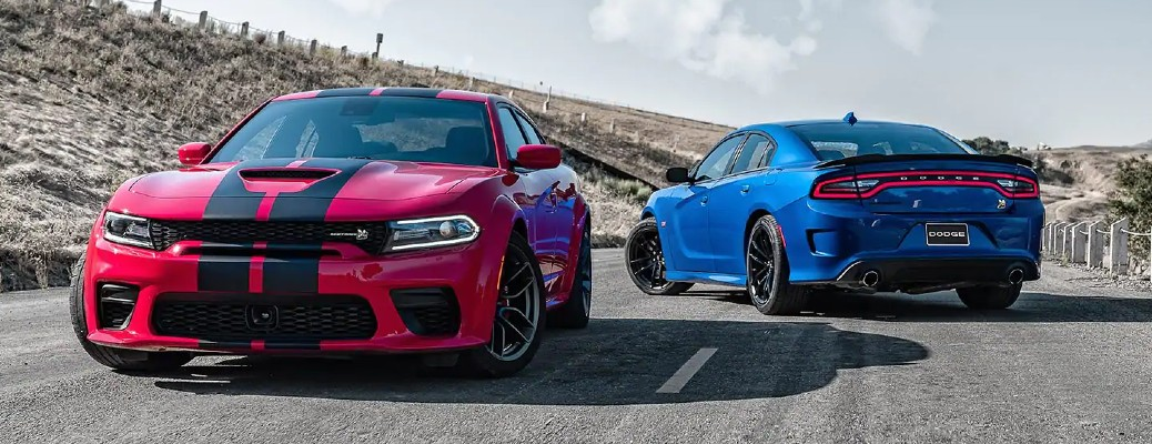 What are the Color Options of the 2021 Dodge Charger?