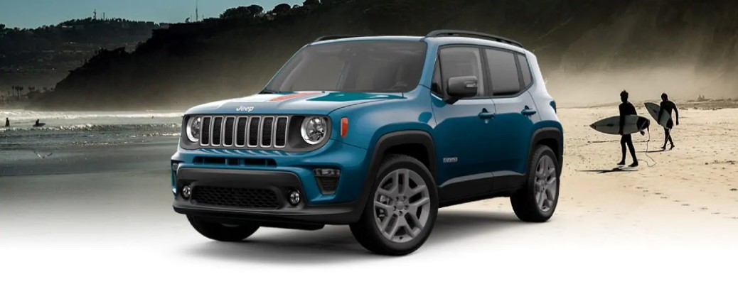 What's Included in the 2021 Jeep Renegade Islander Edition?