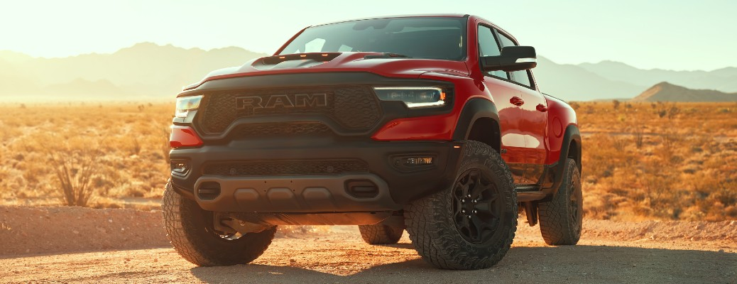 Ram 1500 TRX Named the 2021 MotorTrend Truck of the Year®!