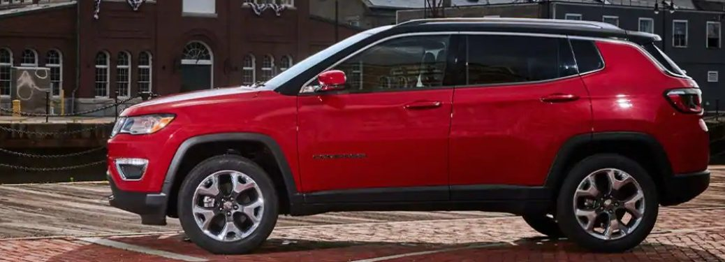 2021 Jeep Compass from the side