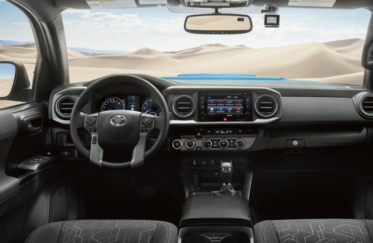 First-Row Touchscreen 2017 Toyota Tacoma